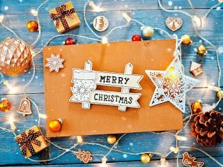 Собирать пазл Merry Christmas онлайн