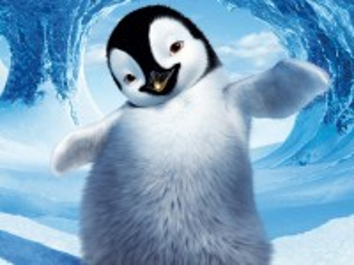 Собирать пазл Милый пингвинёнок онлайн