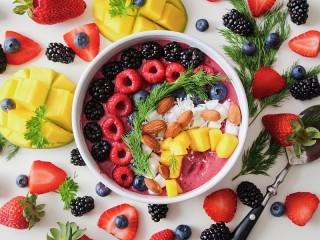 Собирать пазл Мисочка фруктов онлайн