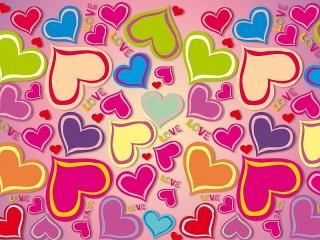 Собирать пазл Много сердец онлайн