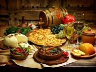 Собирать пазл Кавказский натюрморт онлайн