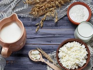 Собирать пазл Молочные продукты онлайн
