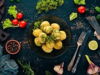 Собирать пазл Молодой картофель онлайн