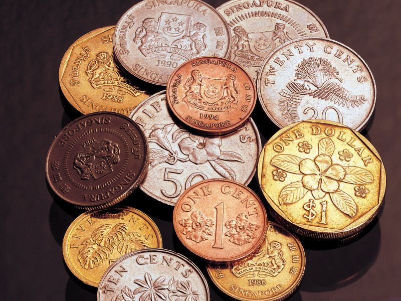 Пазл Собирать пазлы онлайн - Монеты
