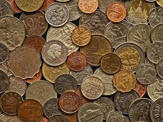 Собирать пазл Монеты онлайн