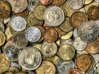 Собирать пазл Монетки онлайн