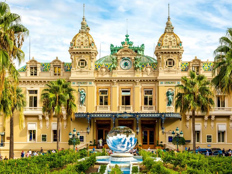 Пазл Собирать пазлы онлайн - Монте Карло Монако