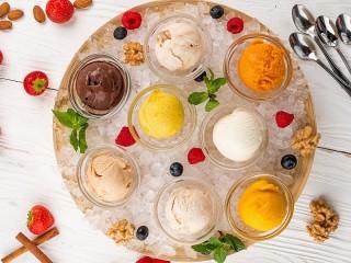 Собирать пазл Мороженое онлайн