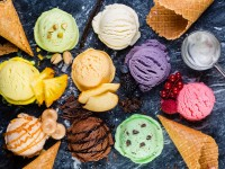 Собирать пазл Мороженое ассорти онлайн
