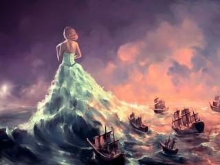 Собирать пазл Морская фантазия онлайн