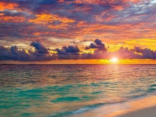 Собирать пазл Морской горизонт онлайн