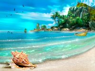 Собирать пазл Морской берег онлайн