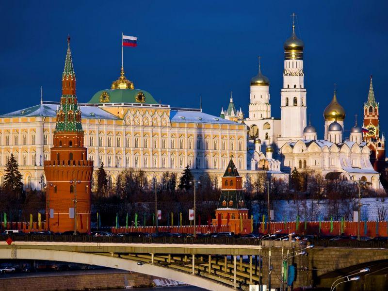 Пазл Собирать пазлы онлайн - Москва Кремль