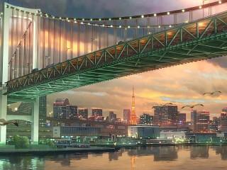 Собирать пазл Мост онлайн