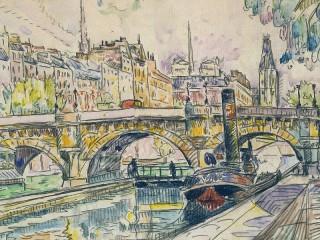 Собирать пазл Мост Пон-Нёф онлайн