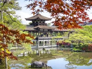 Собирать пазл Мост в Киото онлайн