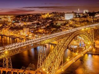 Собирать пазл Мост в Португалии онлайн