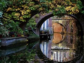 Собирать пазл Мосты Утрехта онлайн
