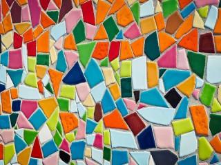 Собирать пазл Мозаичная стена онлайн