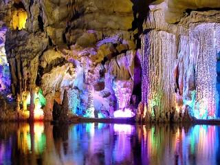 Собирать пазл Пещера в Китае  онлайн