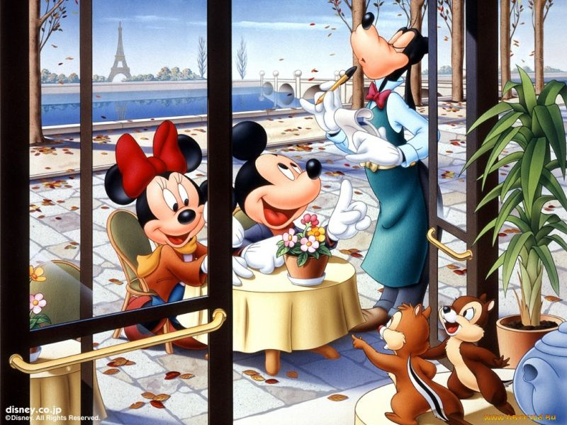 Пазл Собирать пазлы онлайн - Микки Маус