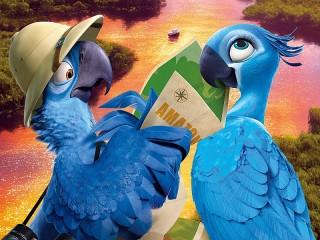Собирать пазл Мультфильм Рио онлайн