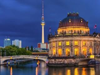 Собирать пазл Музей Боде  Германия онлайн