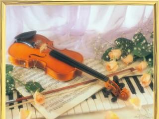 Собирать пазл Музыкальный момент онлайн