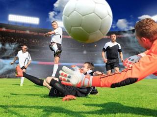 Собирать пазл Мяч в игре онлайн