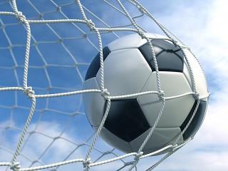 Собирать пазл Мяч в сетке онлайн