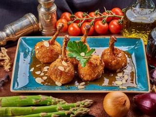 Собирать пазл Мясное блюдо онлайн