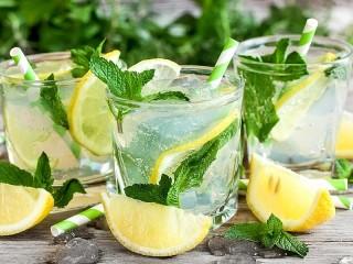 Собирать пазл Мятный лимонад онлайн