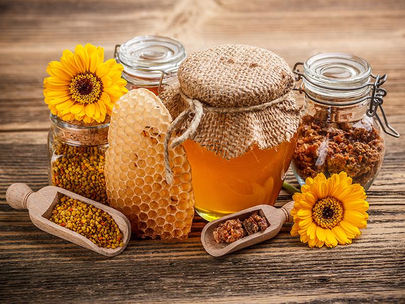 Пазл Собирать пазлы онлайн - Мёд