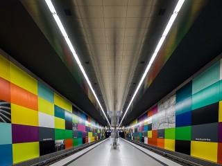 Собирать пазл Мюнхенское метро онлайн