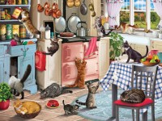 Собирать пазл На кухне онлайн