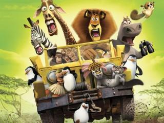 Собирать пазл На Мадагаскаре онлайн