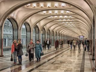 Собирать пазл На Маяковской онлайн