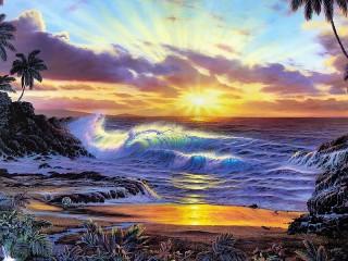 Собирать пазл Находка на пляже онлайн