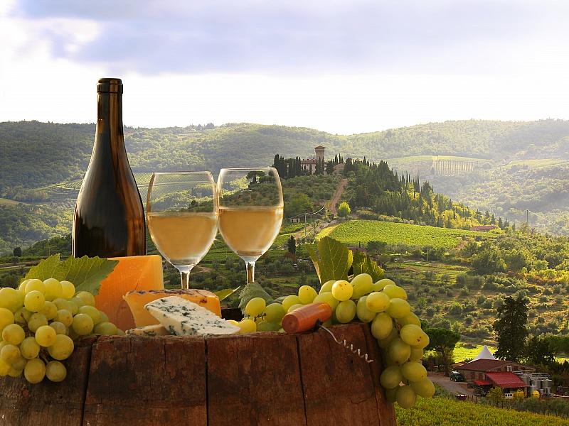 Пазл Собирать пазлы онлайн - Натюрморт с виноградом