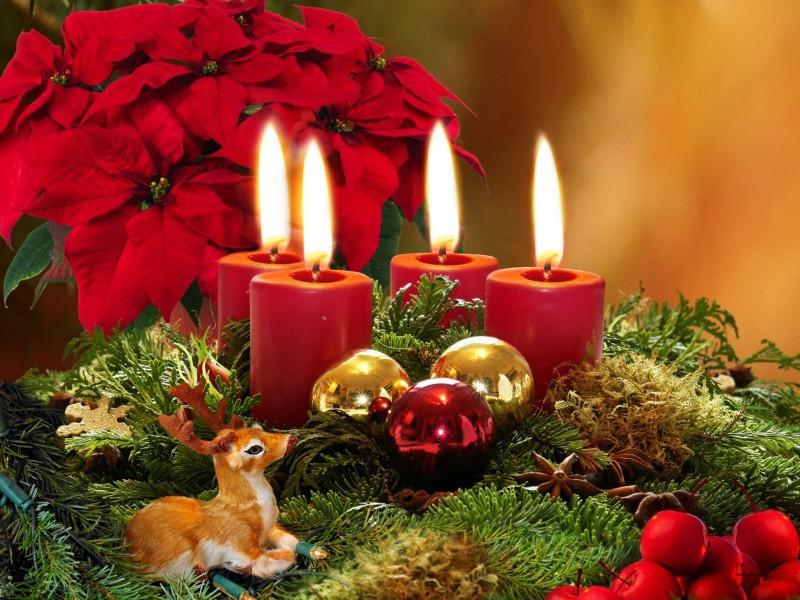 Пазл Собирать пазлы онлайн - Натюрморт Рождество