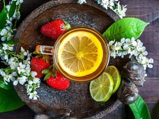 Собирать пазл Натюрморт с чаем онлайн