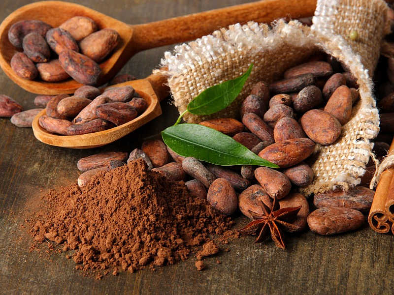 Пазл Собирать пазлы онлайн - Натюрморт с какао