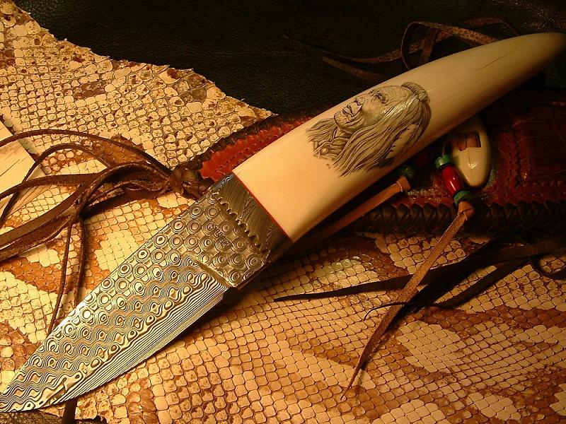 Пазл Собирать пазлы онлайн - Натюрморт с ножом