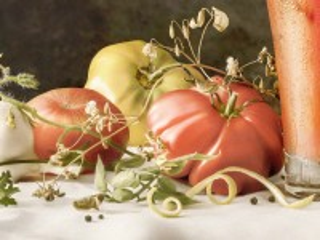 Собирать пазл Натюрморт с помидорами онлайн