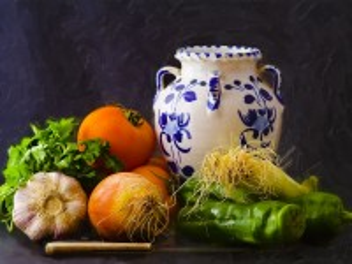 Собирать пазл Натюрморт с вазой онлайн