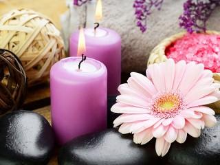Собирать пазл Натюрморт со свечами онлайн