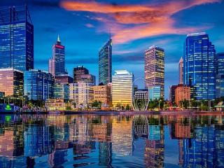 Собирать пазл Небоскрёбы Австралии онлайн