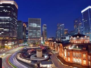 Собирать пазл Небоскрёбы Токио онлайн