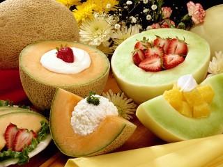 Собирать пазл Необычный десерт онлайн