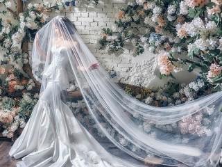 Собирать пазл Невеста под фатой онлайн